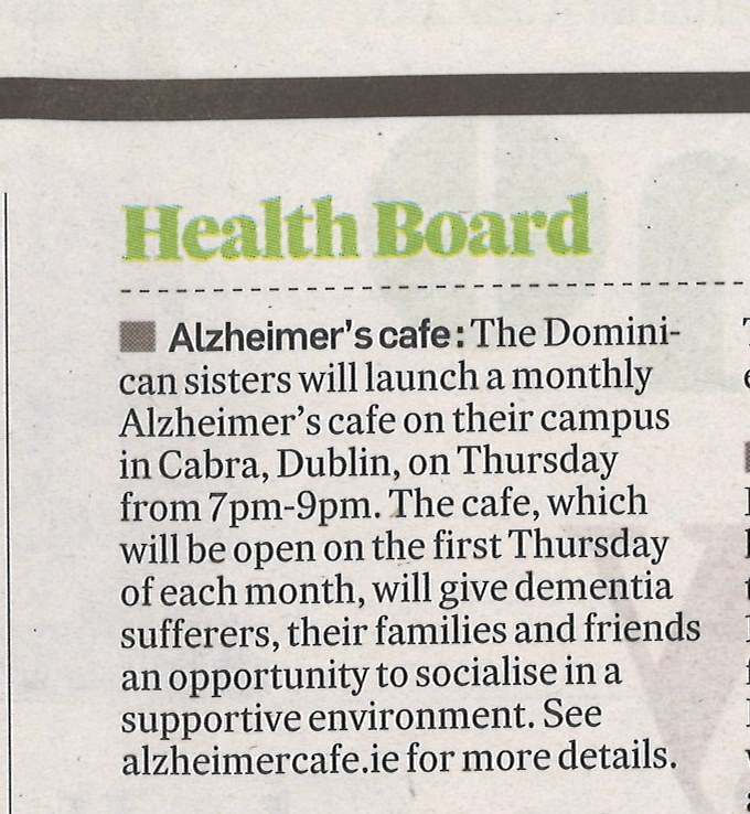 Irish Times Health Lifestyle - 4 Nov.