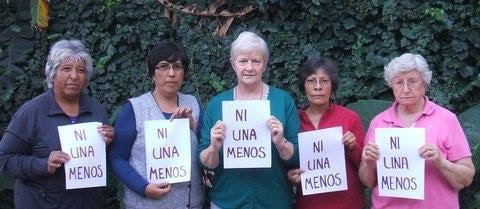 Our Dominican Sisters in Argentina - 'not another one' (Ni Una Menos)
