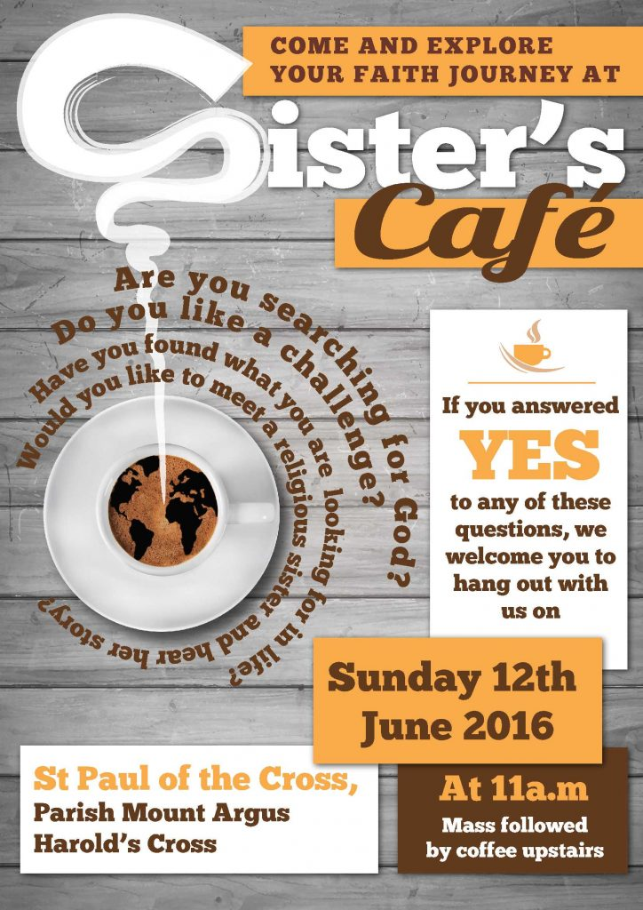 Sisters Cafe - Poster-12june